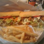 Oyster Po-Boy from Zara's Little Giant Supermarket, New Orleans, LA