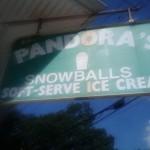 Pandora's Snowballs