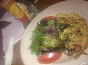 Veggie Omelette, Il Caffe Latte, Harlem